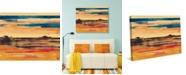 "Creative Gallery Apricot Southwest Mirage 36"" x 24"" Canvas Wall Art Print"