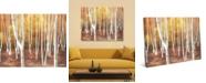 "Creative Gallery Autumn Forest Landscape 20"" x 16"" Canvas Wall Art Print"