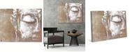 "Creative Gallery Neutral Painted Serene Buddha 36"" x 24"" Canvas Wall Art Print"
