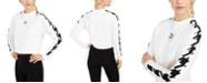 Puma Cotton Printed-Sleeve Sweatshirt