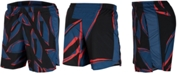 """Nike Men's Challenger Printed Dri-FIT Lined 7"""" Running Shorts"""