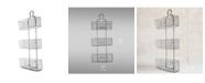 Crystal Art Gallery American Art Decor Meshed Wire 3 Bin Storage Baskets
