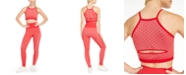 Ideology Heart-Print Seamless Sports Bra & Leggings, Created For Macy's