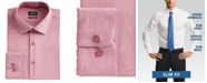 Buffalo David Bitton Men's Slim-Fit Performance Stretch Rose Chambray Dress Shirt