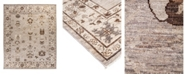 """Timeless Rug Designs CLOSEOUT! One of a Kind OOAK2001 Bone 8'9"""" x 11'7"""" Area Rug"""
