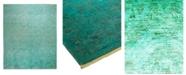 "Timeless Rug Designs One of a Kind OOAK2333 Aquamarine 8' x 10'4"" Area Rug"