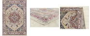 """Asbury Looms Abigail Zariah 713 20990 88R Cream 7'10"""" Round Rug"""