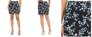 Karen Scott Petite Sharon Floral-Print Skort, Created For Macy's