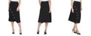 Calvin Klein Snap-Button Skirt