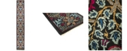 """Timeless Rug Designs CLOSEOUT! One of a Kind OOAK529 Onyx 2'6"""" x 17'2"""" Runner Rug"""