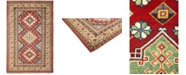 """Timeless Rug Designs CLOSEOUT! One of a Kind OOAK703 Red 4'10"""" x 7'5"""" Area Rug"""