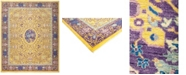 """Timeless Rug Designs CLOSEOUT! One of a Kind OOAK876 Yellow 8'1"""" x 9'9"""" Area Rug"""