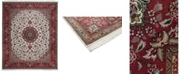 """Timeless Rug Designs CLOSEOUT! One of a Kind OOAK2673 Red 8'2"""" x 9'10"""" Area Rug"""