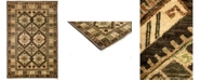 """Timeless Rug Designs CLOSEOUT! One of a Kind OOAK3168 Brown 4'2"""" x 5'10"""" Area Rug"""