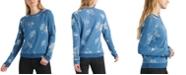 Lucky Brand Cotton Floral-Print Sweatshirt