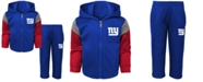 Outerstuff Baby New York Giants Blocker Fleece Set