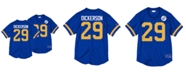 Mitchell & Ness Men's Eric Dickerson Los Angeles Rams Name & Number Mesh Crewneck Top