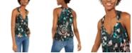 INC International Concepts INC Tie-Dye Surplice Top, Created For Macy's