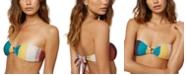 O'Neill Juniors' Sapa Striped Ring Bandeau Bikini Top