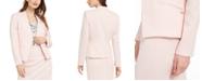 Calvin Klein Textured Asymmetrical Blazer