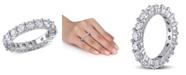 Macy's Certified Diamond (3 ct. t.w.) Eternity Band in 14k White Gold