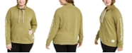 Calvin Klein Plus Size Mock-Neck Sweatshirt