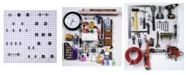 Triton Products Locboard Locboard Wall System Square Hole Pegboard and Locking Hook Organizer