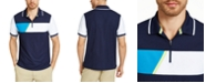 Club Room Men's Colorblocked Sporty Polo Shirt, Created For Macy's