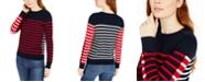 Tommy Hilfiger Striped Crewneck Sweater