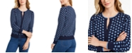 Charter Club Geometric Button-Front Cardigan, Created for Macy's