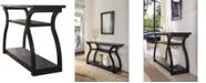 Furniture of America Kingsberg 2-Shelf Console Table