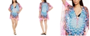 Bleu by Rod Beattie Printed Caftan Cover-Up