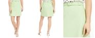 Bar III Belted Mini Skirt, Created for Macy's