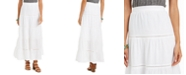 Style & Co Tiered Cotton Maxi Skirt, Created for Macy's