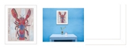 Trendy Decor 4U Trendy Decor 4U Lobster II By Sear, Printed Wall Art, Ready to hang Collection