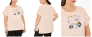 Calvin Klein Plus Size Graphic-Print T-Shirt