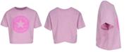 Converse Big Girls Boxy-Fit Patch Logo Graphic T-Shirt