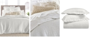 Lucky Brand CLOSEOUT! Textured Woven Cotton 3-Pc. King Duvet Set, Created for Macy's