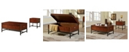 Furniture of America Vannoy Novelty Coffee Table Set