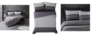 Sean John Knit Stripe Jersey Full/Queen Comforter Set