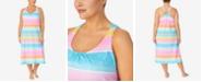 Lauren Ralph Lauren Plus Size Printed Ballet-Length Nightgown