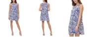 Tommy Hilfiger Olivia Floral-Print Shift Dress