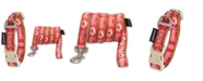 Touchdog 'Funny Bun' Tough Stitched Embroidered Collar and Leash Small