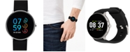 iTouch Men's Sport Black Silicone Strap Touchscreen Smart Watch 43.2mm