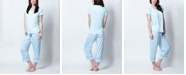 Muk Luks Henley Capri Pajama Set