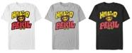 Always Be My Maybe Men's Hello Peril Logo Short Sleeve T-Shirt