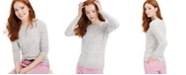 Charter Club Cashmere Donegal Crewneck Sweater, Created for Macy's