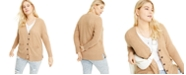 Charter Club Plus Size Cashmere Boyfriend Cardigan Sweater, Created for Macy's