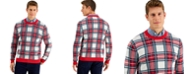 Charter Club Men's Plaid Sweater, Created for Macy's