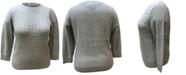 Karen Scott Plus Size Mixed-Stitch Sweater, Created for Macy's